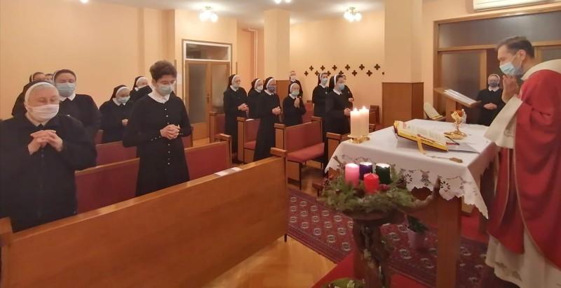 Proslava spomendana blaženih Drinskih mučenica u samostanu Gospe Lurdske u Zagrebu
