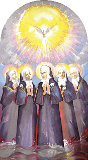 Drina Martyrs - Blessed Marija Jula Ivanišević and four sisters