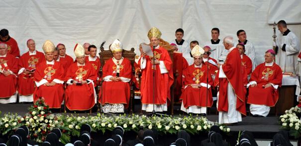 Propovijed kardinala Angela Amata na Misi beatifikacije Drinskih mučenica