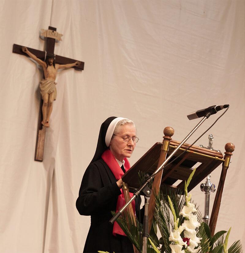Zahvala vrhovne glavarice s. Lucyne Mroczek za beatifikaciju